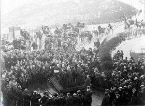 Proclamation of King Edward VII at Scarborough